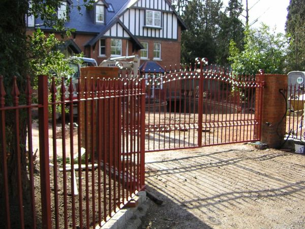 Commercial gates.